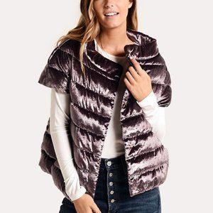 NWT HERNO CRYSTAL VELVET jacket, EU 42